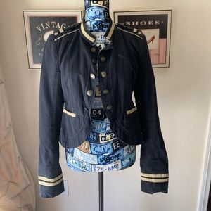 Abercrombie and Fitch Peplum Military Jacket